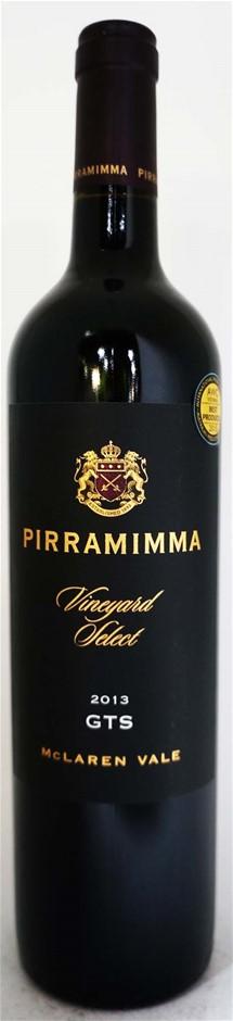 Pirramimma Vineyard Select GTS 2013 (12 x 750mL), McLaren Vale, SA.