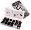180pc Rubber Grommet Assortment. Contents: Refer Image. Buyers Note - Disco