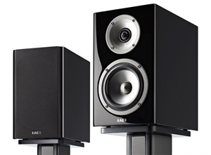 Acoustic Energy Reference 1 Bookshelf Speakers Stand Pair Piano Black