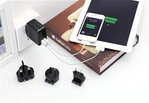 Huntkey TravelMate D204 Multi USB Wall C