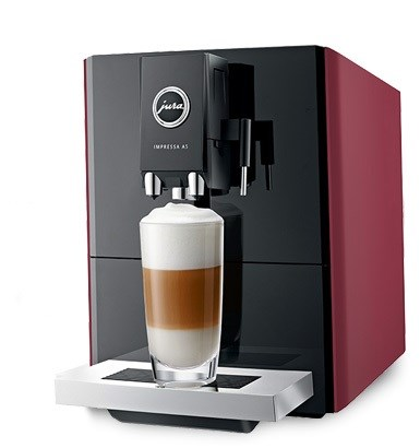 Jura Impressa A5 Coffee Machine - Red