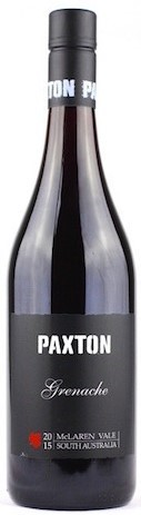 Paxton`Single Vineyard` Grenache 2015 (6 x 750mL), McLaren Vale, SA.