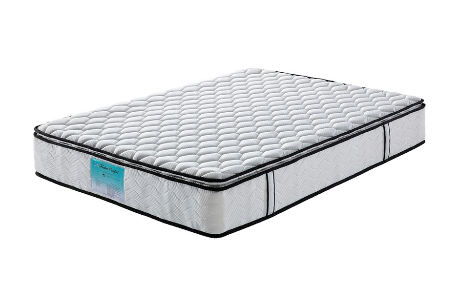 Pillow Top Pocket Spring Mattress with Natural Latex - Single Size