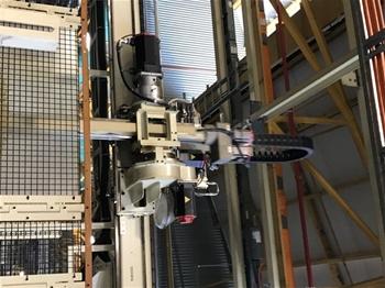 Gantry & Jib Cranes - Camshaft Machining