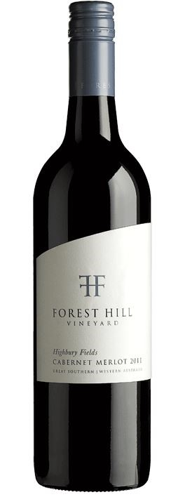 Forest Hill `Highbury Fields`Cabernet Merlot 2015 (12 x 750mL), Mt Barker.
