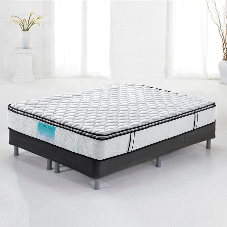 Pillow Top Pocket Spring Mattress with Natural Latex - King Size