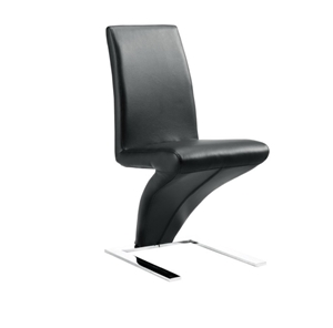 Set of 2 x Z Bonded Leather Dining Chair