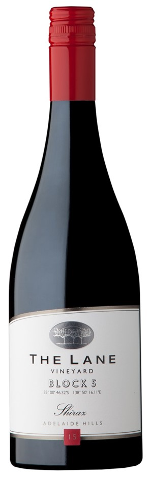The Lane `Block 5` Shiraz 2014 (12 x 750mL), Adelaide Hills, SA