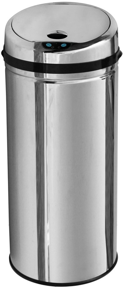 BRIENZ 50L Automatic Sensor Trash Bin -S/Steel