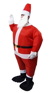 SANTA Fancy Dress Inflatable Suit -Fan O