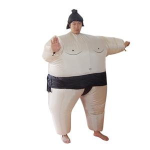 SUMO Fancy Dress Inflatable Suit -Fan Op