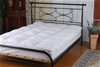 100% White Duck Feather Mattress Topper -DOUBLE