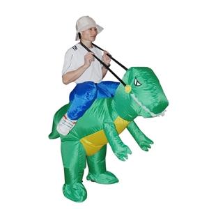 DINO Fancy Dress Inflatable Suit -Fan Op