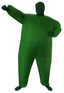 Go Green Inflatable Costume Fancy Dress