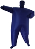 Feeling Blue Inflatable Costume Fancy Dress Suit Fan Operated