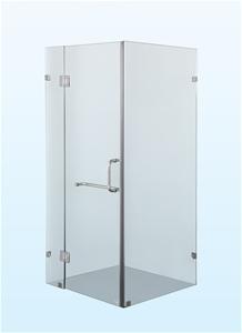900 x 900mm Frameless 10mm Glass Shower
