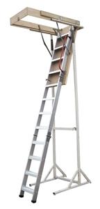 Deluxe Aluminium Attic Loft Ladder - 270