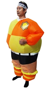 FOOTBALL Fancy Dress Inflatable Suit -Fa