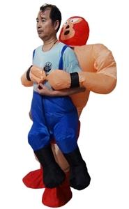 WRESTLER Fancy Dress Inflatable Suit -Fa