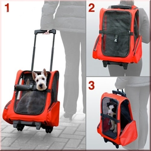 Dog Pet Safety Transport Carrier Backpac