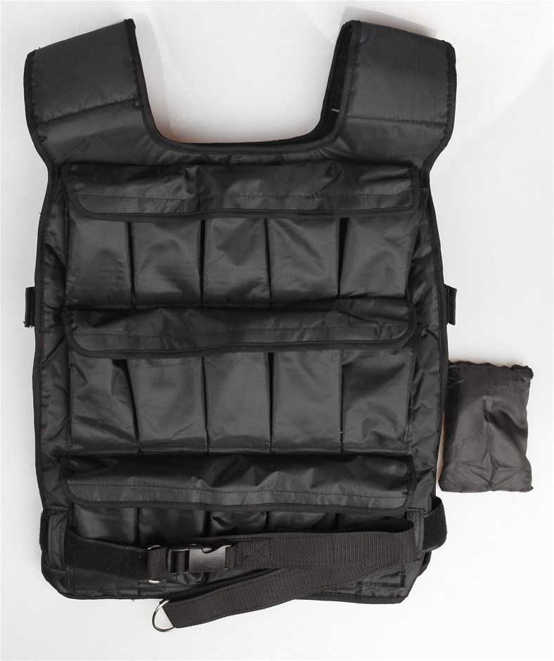 20Kg Adjustable Weighted Training Vest