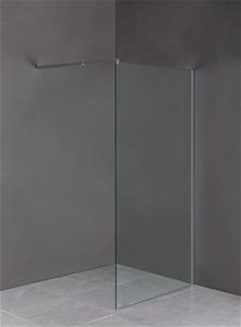 1000 x 2000mm Frameless 10mm Safety Glas