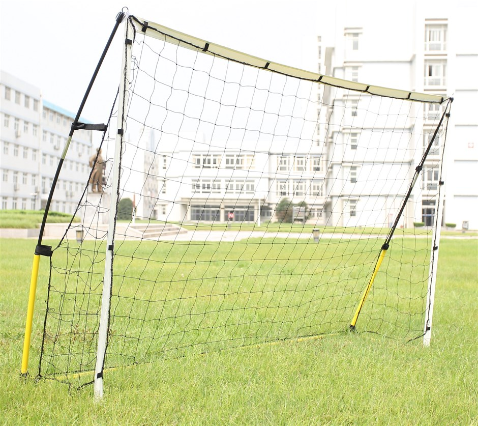 8' x 5' Soccer Football Goal Foot Portable Net Quick Set Up
