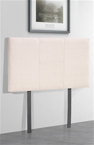 Linen Fabric Single Bed Headboard Bedhea