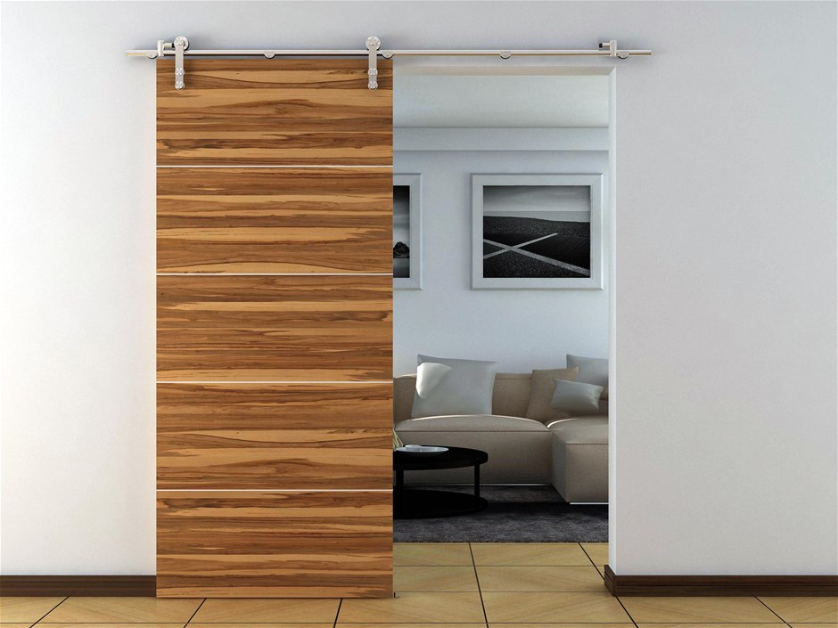 Sliding Barn Door Hardware Stainless Steel