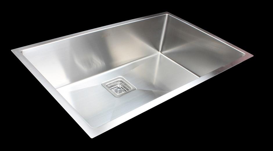810x505mm Handmade Stainless Steel Undermount / Topmount Kitchen Sink