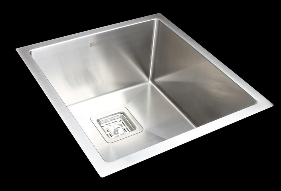430x455mm Handmade Stainless Steel Undermount / Topmount Kitchen Sink
