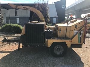 Trailer Mounted Industrial Wood Chipper, Vermeer, BC1500 (Wingfield, SA)