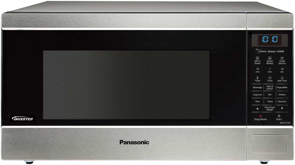 Panasonic NN-ST776SQPQ 44L Inverter Stainless Steel Microwave Oven (Silver)