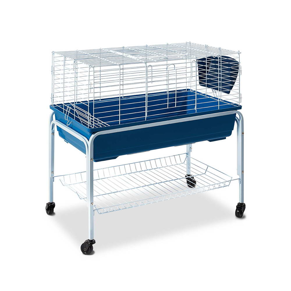 Rabbit and guinea pig hutches 6 products graysonline for Guinea pig stand