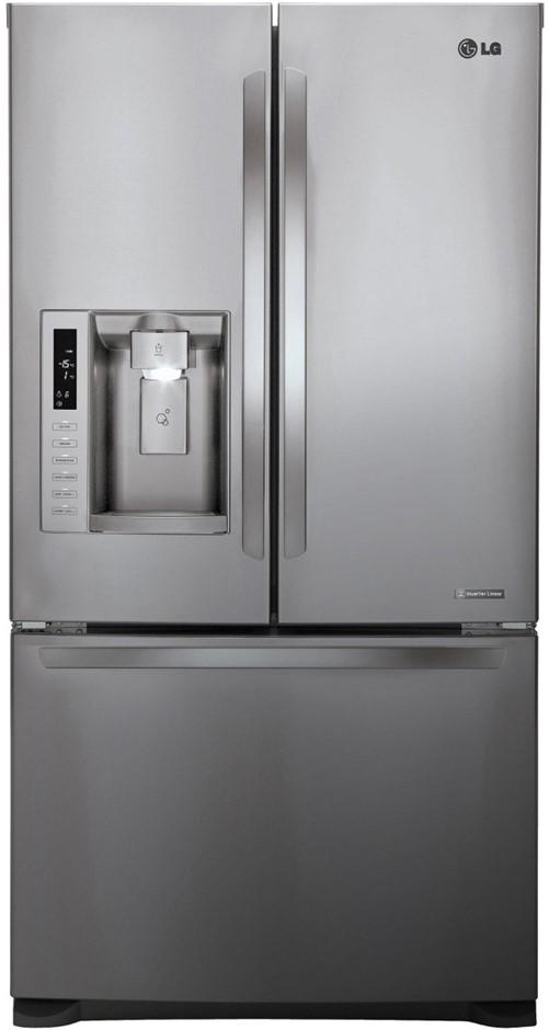 LG 613L French Door Refrigerator (GF-L613PL)
