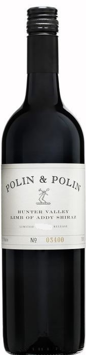 Polin & Polin Limb of Addy Shiraz 2014 (12 x 750mL), Hunter Valley, NSW.