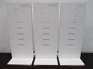 Qty Of 2 Freestanding Product Display Stands Auction 0087 7018397 Graysonline Australia