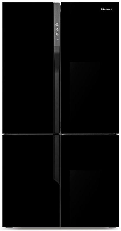 Hisense 512L French Door Fridge (HR6CDFF512GB) (Black)