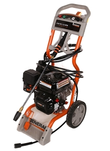 GENERAC 2700psi Pressure Washer with 196cc OHV Petrol Engine