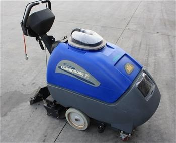 Karcher Walk Behind Electric Floor Sweeper Auction 0009