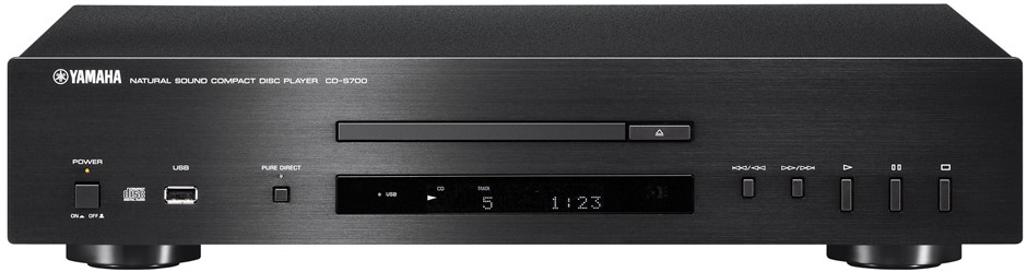 Yamaha CD-S700 CD Player (Black)