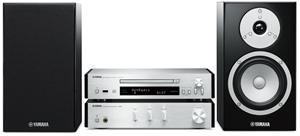 Yamaha MCRN670 Micro HiFi System (Silver