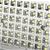 Set of 2 60 LED Solar Powered Senor Light