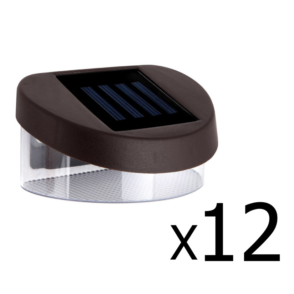 Set of 12 Solar Powered Sensor Lights