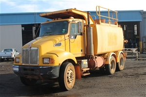 1997 Kenworth T300 6 x 4 Water Truck with CAT 3126 Turbo Diesel Engine