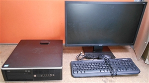 HP Compaq Pro 6300 SFF Series Desktop Pc System, Specs Intel Core i5-3470 C