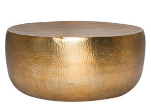 Freedom Hammered Drum Coffee Table