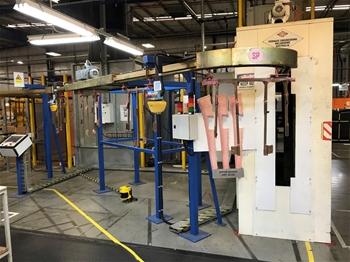 Upper Board Robotic Adhesive Sprayer System
