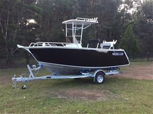 Wildsea 520 Aluminium Custom Plate Boat Center Console