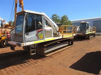 2 x 2012 Superior SFT-180 Flat Bed Tractors